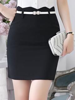 Women's Black Skirt Women's Short Pencil Suit Skirts