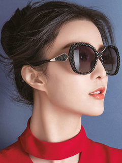 Women's Chic Sunglasses In Black