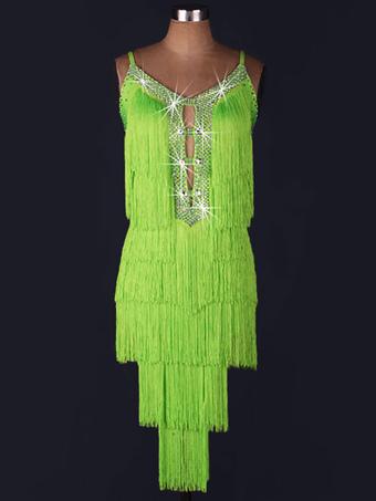new style 7a4fc 7e58e Abito-salsa da ballo latino, Rumba, costume cha-cha-cha ...