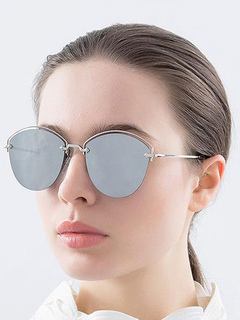 Vintage Women's Grey Sunglasses