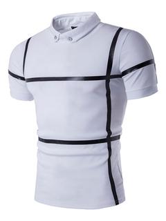 7adfd25ba9c8 White Polo Shirts Men's Short Sleeve 2 Colors Summer T Shirt