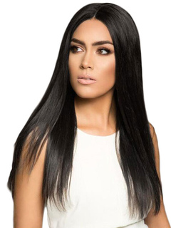 Long Black Wigs Straight Center Parting Women's Synthetic Hair Wigs
