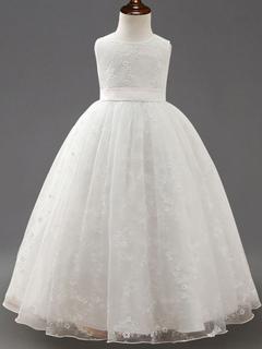 d6bd80924 Vestido de niña para boda 2019 de Floristas de la princesa Vestidos del  desfile del tutú