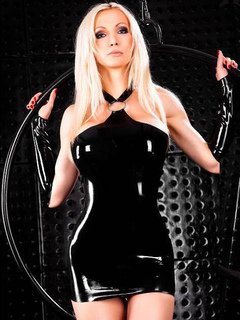 Black Club Set Halter Sleeveless Metal Details Backless Bodycon Dress With Gloves For Women