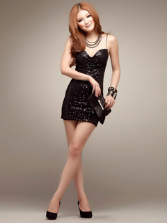 Sexy Club Dress Sequins Spaghetti Strap Backless Black Mini Dress