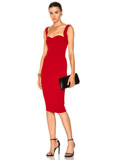 Red Party Dress Straps Sweetheart Neck Sleeveless Backless BodyCon Dresses For Women