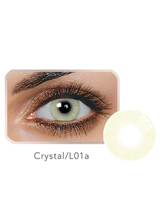Color Contact Lens Balafilcon Crystal Small Size Yearly Contact Lenses Color