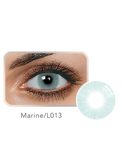 Yearly Colored Contact Marine Blue Small Size Balafilcon Contact Color Lens