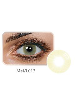 Color Contact Lens Balafilcon Mel Small Size Yearly Colored Contact