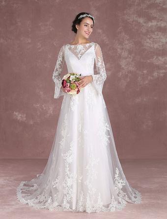 molti alla moda aliexpress calzature Abito da sposa Boho Chic, Abito da sposa Bohemien online ...