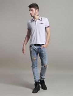 Fashion Cotton Short Sleeves Mens Polo Shirt