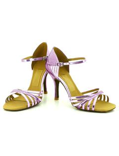 Zapatos de baile metálica tobillo correa suave único Open Toe baile zapatos de baile Womens IEnL75J