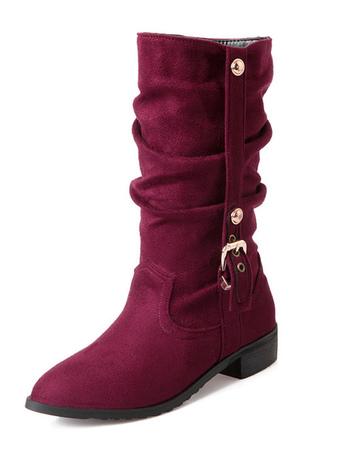 d92fa8b2b8b83f Bottes mi-mollet, Bottes mi-mollet 2019, chaussures femmes ...