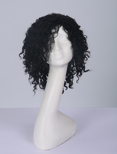 Afro American Wig Tousled Short Curly Curlkalon Hair Wig
