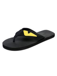 f0bd88812dd Men Flip Flops Black Thong Detail Backless Sandals Beach Sandal Shoes