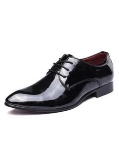 6d332a48af Zapatos de vestir negros Zapatos de hombres Zapatos de negocios con  cordones y puntiagudos