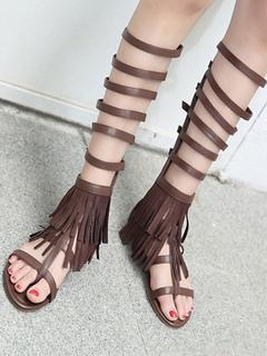 donna sandali da gladiatore perizoma infradito Basse T CON CINTURINI PUNTA
