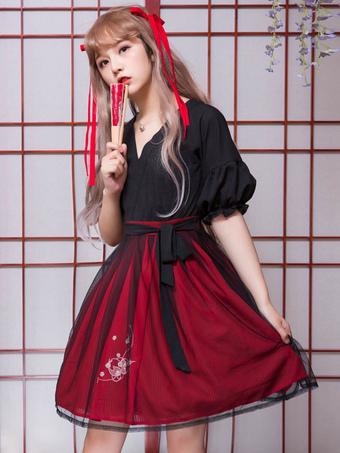中国ロリィタ ウェディング レディースファッション メンズ