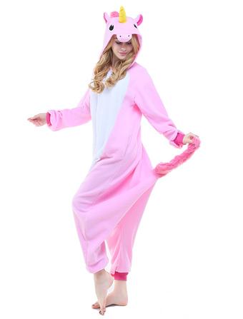 Kigurumi Pajama Единорог Единорог Онези Взрослые Unisex Flannel Animal  Costume Halloween 6ed1d3f8d4f91