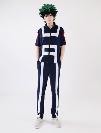 77eacc7b Boku No Héroe Academia BNHA Midoriya Izuku Disfraz de Cosplay 2019 Gym  Traje Halloween