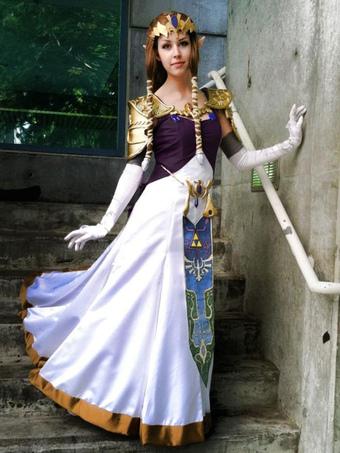 4b11b1312 The Legend Of Zelda Twilight Princess Halloween Cosplay Costume Halloween