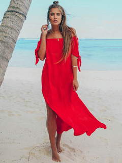 Women's Clothing Sunny Women Mini Dresses Casual Boho Sexy Pink Sweet Beach Holiday Strapless Stripe Pleated Summer Ruffles Backless Female Lady Dress