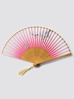 Milanoo / Wedding Fan Bamboo Fans And Parasols 4 Pcs