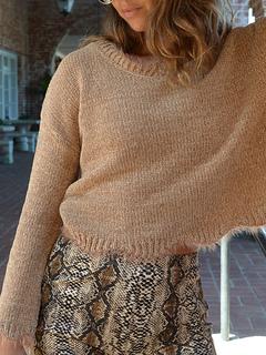 Milanoo / Pullovers For Women Khaki V-Neck Long Sleeves Acrylic Sweaters