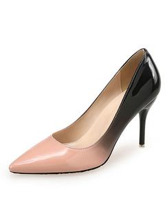 Milanoo / Woman's High Heels Pointed Toe Basic Pumps Color Block