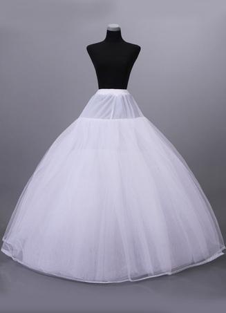 fae587658ca1a White 8-Tier Net Full Gown Bridal Wedding Petticoat