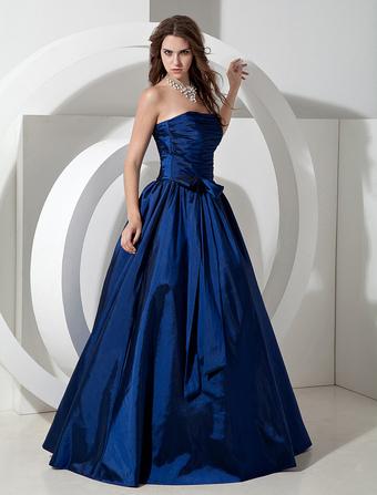 Vestidos azul marino para damas de honor