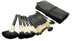Professional Make Up Brush Set With Leather Case
