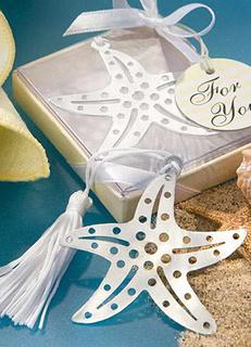 Starfish Bookmark Favors