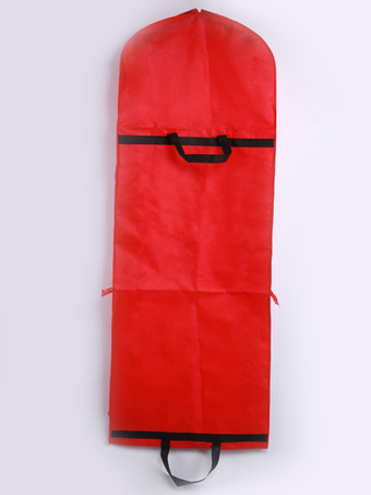 Red Wedding Dustproof Polyester Chic Bag