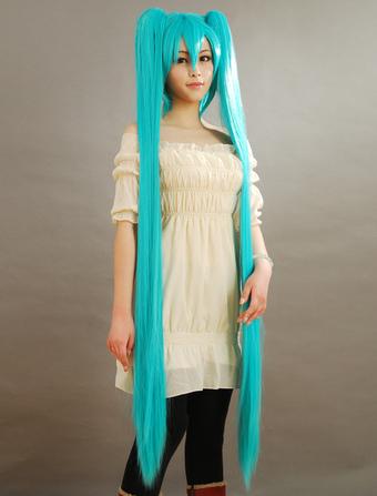 Vocaloid Hatsune Miku Cosplay Wig Halloween  sc 1 st  Milanoo.com & Milanoo.com - Buy Cheap Hatsune Miku Cosplay Costume Halloween ...