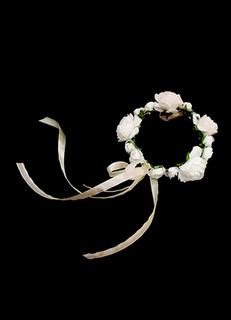 Fantastic White Free-Form Shape Silk Flower Paper Wedding Flowers