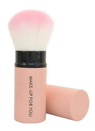 Chic Pink 1 Piece Easily Applied Makeup Brush