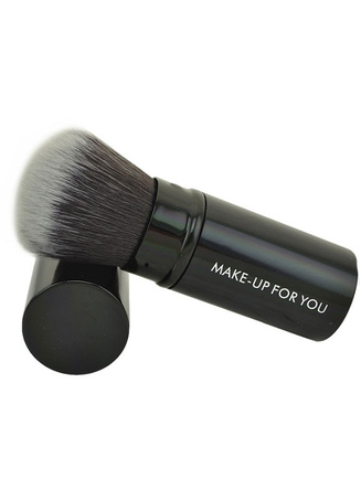 Quality Black 1 Piece Easily Applied Makeup Brush