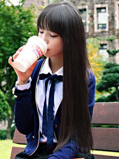 Black Straight Heat-resistant Fiber Romantic Long Wig For Woman