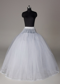 Four-Tier Full Gown Wedding Petticoat