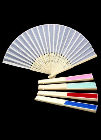 Bamboo Folding Fan Chic Wedding Fan