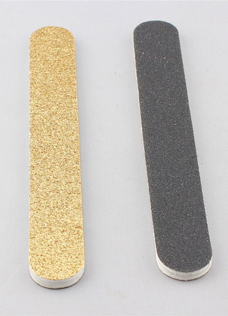 Light Gold 2-Piece Resin Nail Files