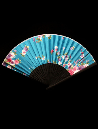 Classic Bamboo Lace Teen Wedding Fan
