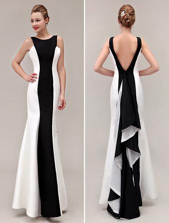 67e636ea7458e5 Farbe Spot-Bereich 2019 Prom Kleid-V-Rücken Meerjungfrau Taft Rüschen Kleid