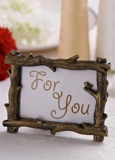 Vintage Non-personalized Wooden Frame And Album Favors