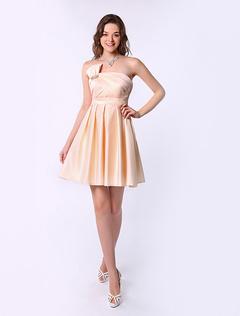 Vestidos dama honor cortos
