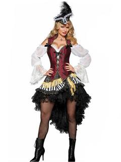 Da Pirata Carnevale Caraibi Per Donna Costume Dei dOqx4dw