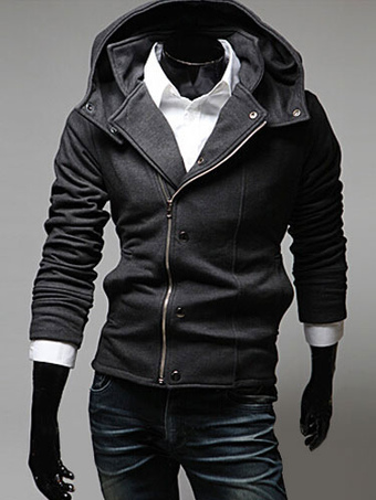 Mens Hoodie With Zipper
