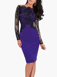 Women's Lace Sexy Bodycon Dress