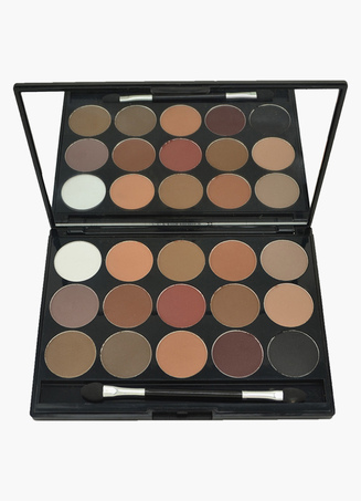 Multi Color 15 Colors Easily Applied Eye Makeup